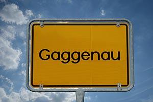 Ortsschild Gaggenau