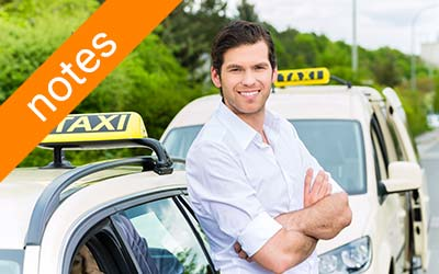 Transmission de course  flexible aux chauffeurs de taxi